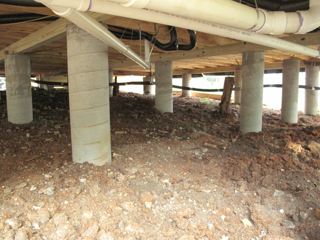 Check out our quality foundation repair photo gallery for Foundation piers