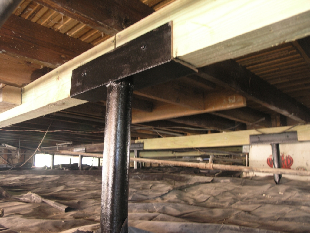 Check out our quality foundation repair photo gallery for Pier and beam home plans