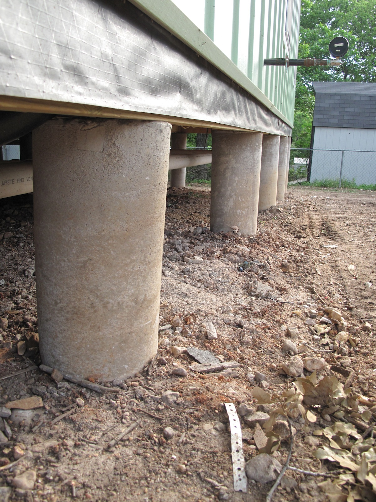Georgetown Foundation Repair - Pier & Beam and Slab | QFR