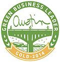 Green Business Leader Gold 2014